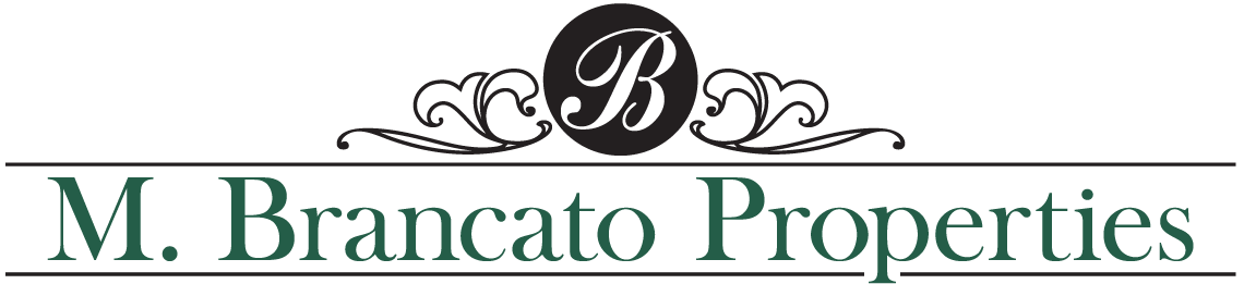 Logo of MBrancato Properties in Oswego NY